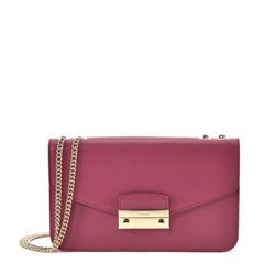 Bag in berry by Furla at Wertheim Village