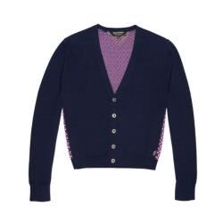 Juicy Couture Pink and navy cardigan