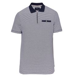 Black stripes polo shirt