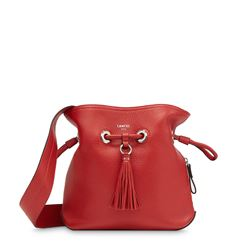 Lancel, Red bucket bag
