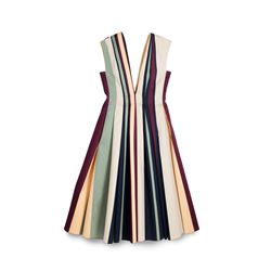 Paule Ka, Coloured striped dress