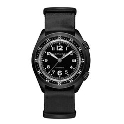 Hour Passion  Hamilton black pilot pioneer from Bicester Village