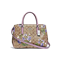 Coach Women's Signature lily print surrey carryall