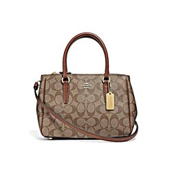 Coach Women's Signature Mini Surrey Carryall