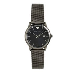 Men's watch in black by Armani Outlet at Ingolstadt Village