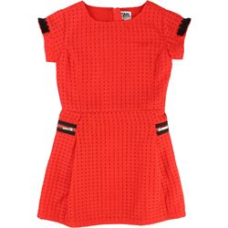 Karl Lagerfeld Kids Red Dress