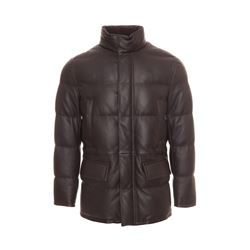 Brioni  Brown leather jacket from Bicester Village