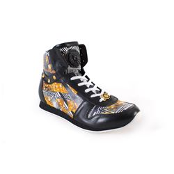 Versace high top trainers
