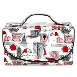 Lulu Guinness roll cosmetic case