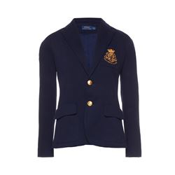 Polo Ralph Lauren  Navy crested custom blazer from Bicester Village