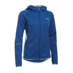 Women's jacket in blue by Under Armour at Wertheim Village