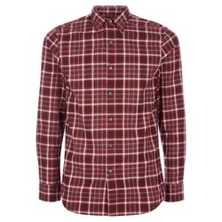 Tailored Flannel Shirt