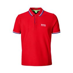 Polo rojo BOSS