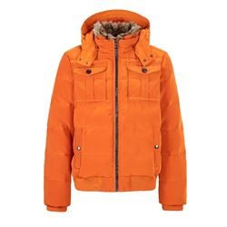Orange coat Tommy Hilfiger