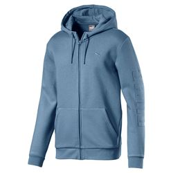 PUMA Men's Faded Denim Hoodie