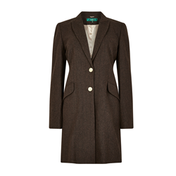 Brown Pearl Piccadilly Coat