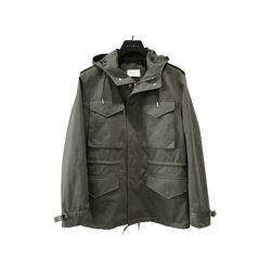 Sandro Olive field jacket