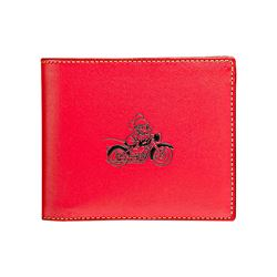 Coach  Red  3 in 1 Wallet in Leather featuring Mickey from Bicester Village