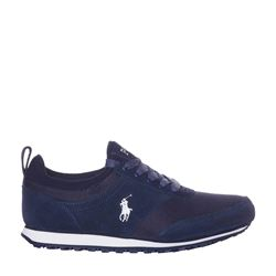 Sneakers in blue by Polo Ralph Lauren at Wertheim Village