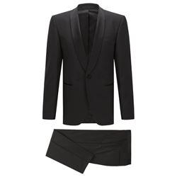 Hugo Boss Men's black The Sky1/Gala1 Tuxedo