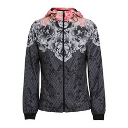 Chaqueta floral deportiva