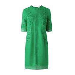L.K Bennett Danika apple green dress