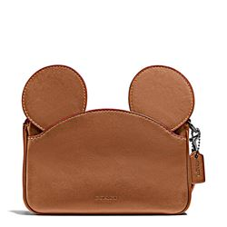 Damen-Handtasche 'Mickey Patricia Ear' in Braun von Coach in Wertheim Village
