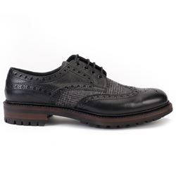 Hackett black brogues