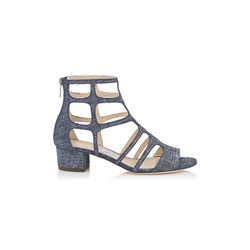 Jimmy Choo Women's Denim Leather Sandals
