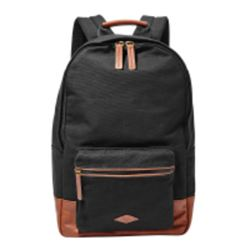 Fossil Estate backpack in black