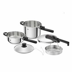 Zwilling 6 piece pressure cooker set