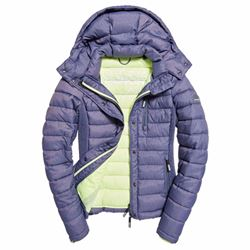 Superdry Women's Fuji slim double zip jacket