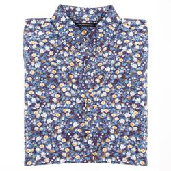 French Connection flower shirt