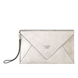 Guess - Clutch plateado