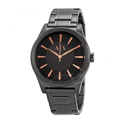 Armani Exchange men's watch in black by Watch Station International at Wertheim Village