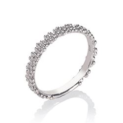 Annoushka  18ct white gold daisy ring from Bicester Village