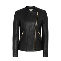 Reiss Women's Ana biker leather jacket