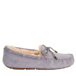 Slippers in grey by UGG at Wertheim Village