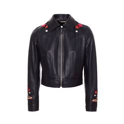 Roberto Cavalli  Circus leather jacket from Bicester Village