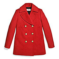75th Icon Peacoat- Holly