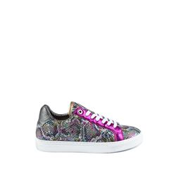 Zadig & Voltaire, Women's snake print trainers