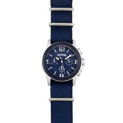 Dark blue watch