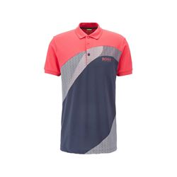Boss Men Bright Pink Paddy Pro Polo