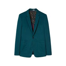 Paul Smith Men's Green Suit Jacket