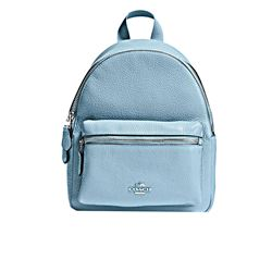 Backpack 'Mini Charlie' in blue by Coach at Ingolstadt Village