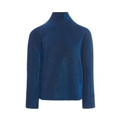 Blue lurex jacket