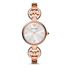 Armani Damen Uhr in Rosé in Wertheim Village