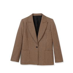 The Kooples, Beige checked jacket