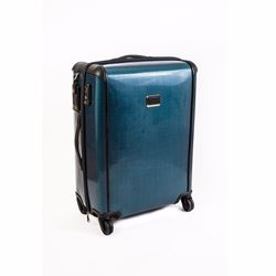 Tumi Carry on blue Tegra suitcase