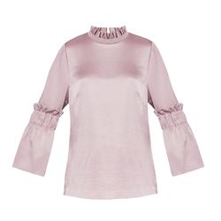 Ted Baker  Myani frilled sleeve top from Bicester Village